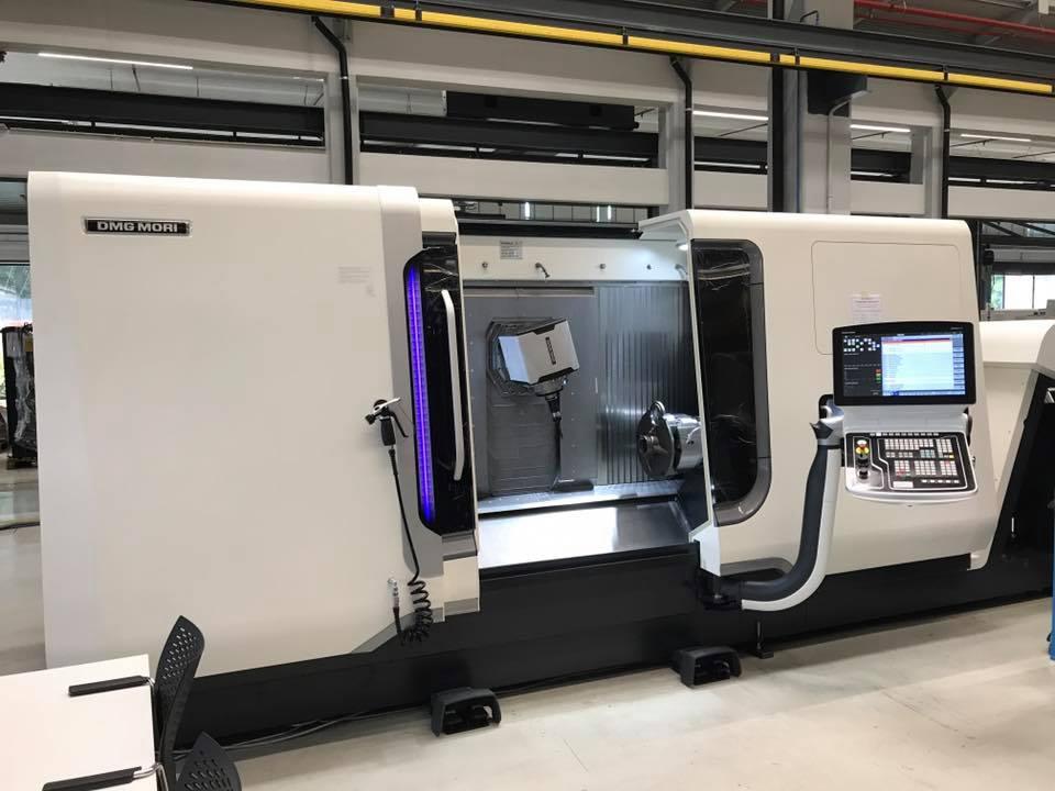 Reparto Produzione CNC di ultima generazione